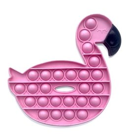 Top Trenz Pink Flamingo Floaty OMG Pop Fidgety Popper