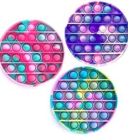 Top Trenz Round Tie Dye OMG Pop Fidgety Popper (various)
