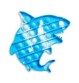 Top Trenz Tie Dye Shark OMG Pop Fidgety Popper