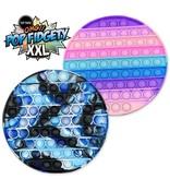 Top Trenz XXL Round Tie Dye OMG Pop Fidgety Popper (various colors)