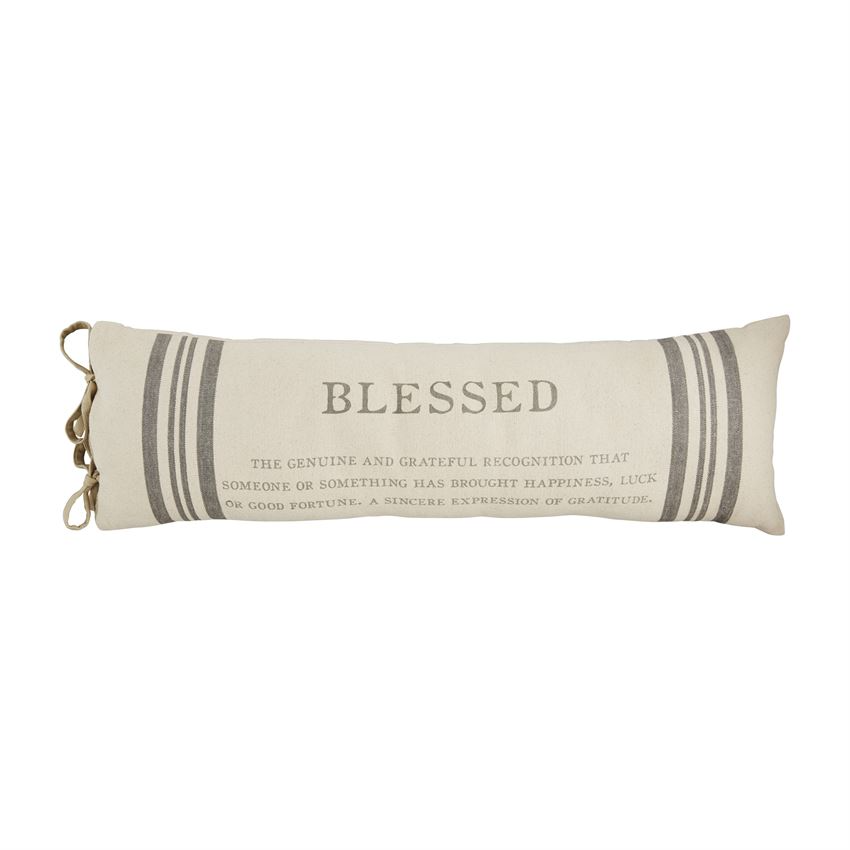 Mudpie Blessed Definition Pillow