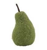 Mudpie GREEN FELTED WOOL PEAR