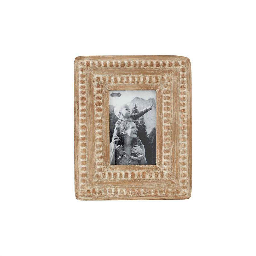 Mudpie RECTANGLE SMALL BEADED FRAME