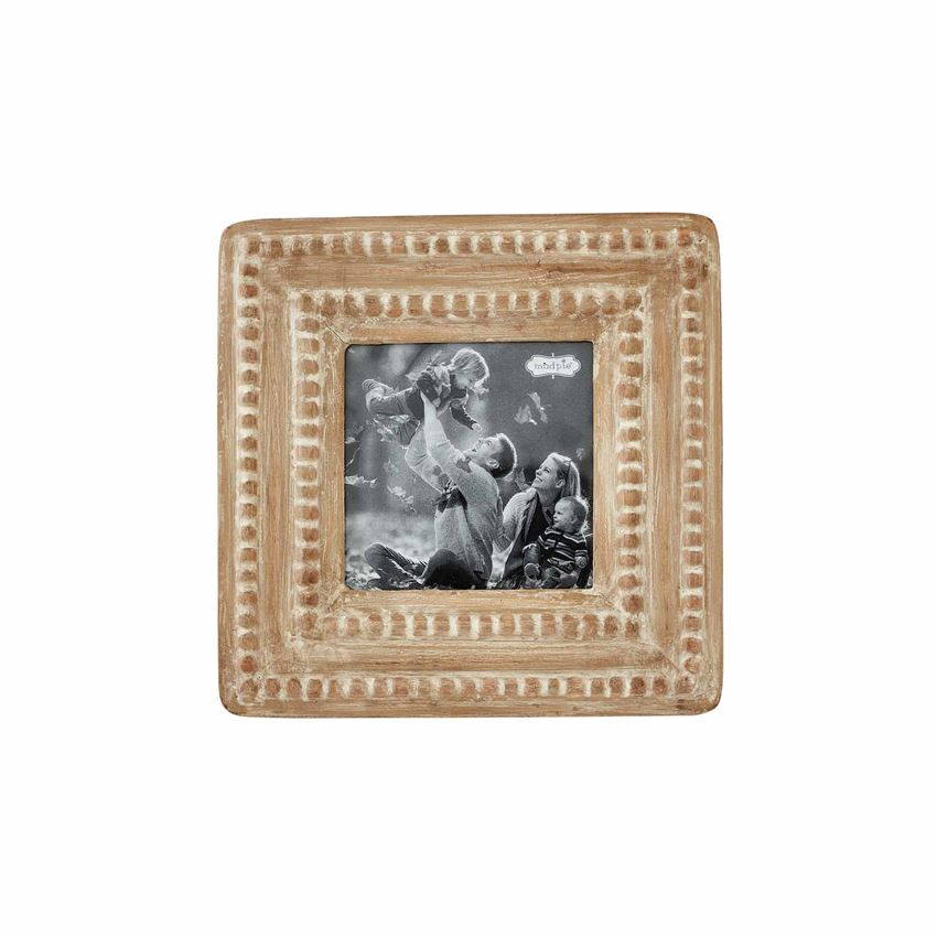 Mudpie SQUARE SMALL BEADED FRAME
