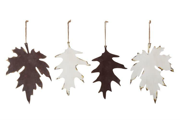Fleurish Home Large Hanging Metal Leaf (various) *last chance
