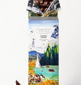 Compartes Chocolate Campfire S'Mores Chocolate Bar