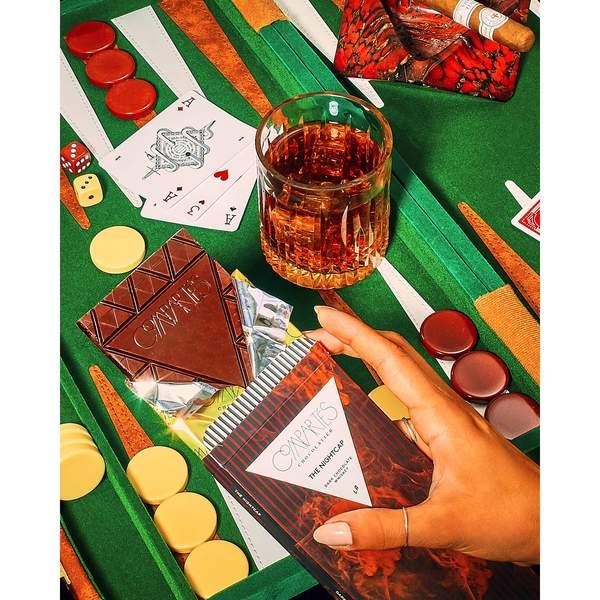 Compartes Chocolate Nightcap Whisky Dark Chocolate Bar