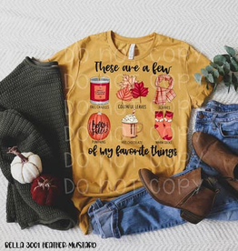 Fleurish Home A FEW OF MY FALL FAVORITES GRAPHIC TEE *last chance