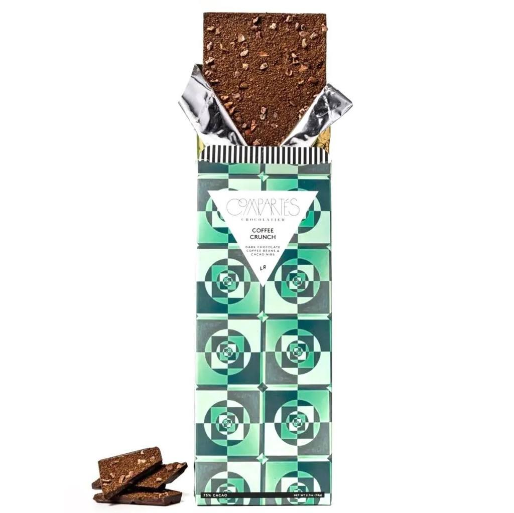 Compartes Chocolate Coffee Crunch Dark Chocolate Bar
