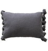 "Fleurish Home 24""L x 16""W Cotton Slub Pillow"