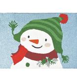 Jellybean Snowman in Ski Hat