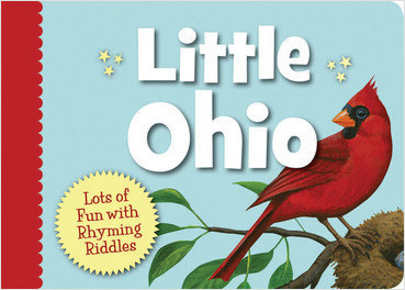 Sleeping Bear Press Little Ohio board book for toddlers
