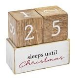 Mudpie Multi Holiday Countdown Blocks