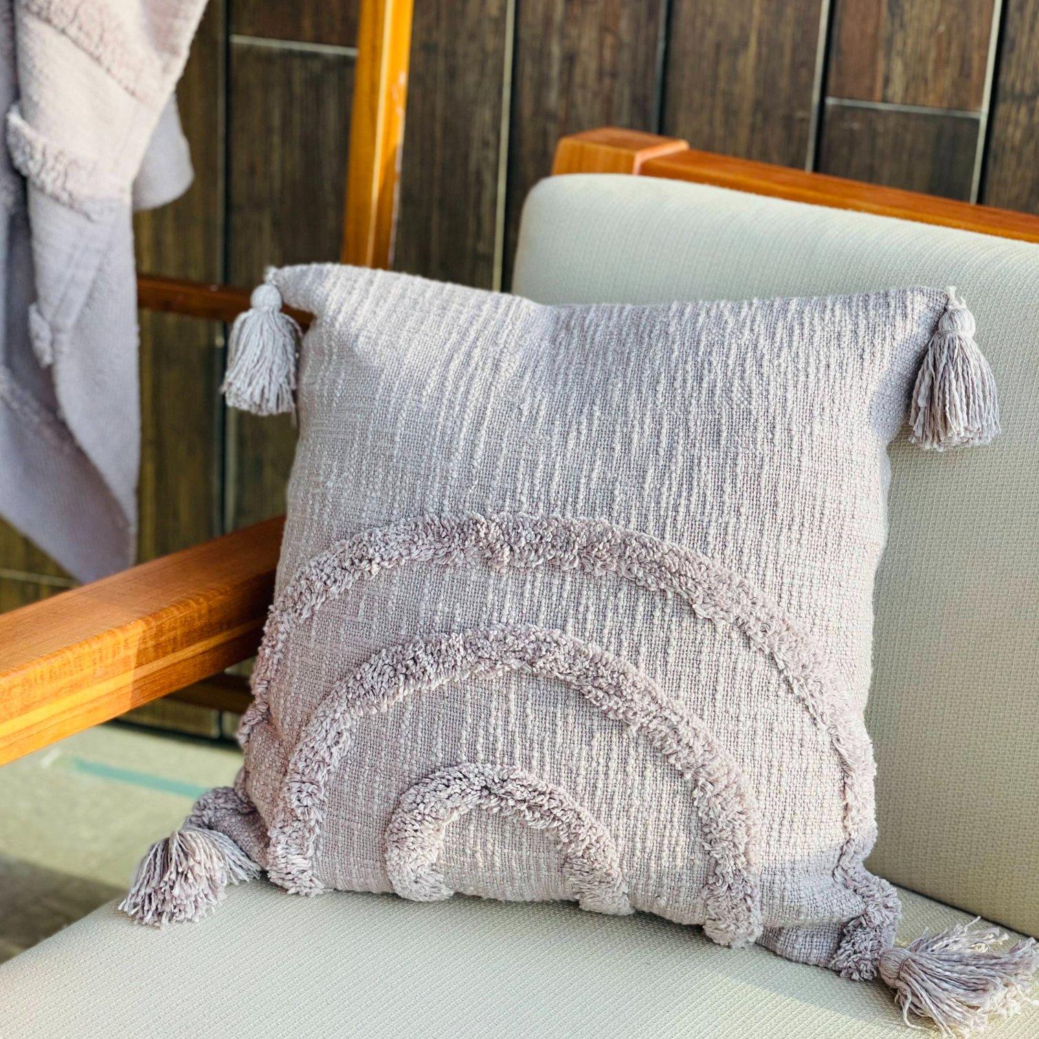 Fleurish Home Indu Throw Pillow: Without Insert