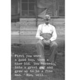 Trash Talk by Annie Trash Talk Greeting Card - Old Fart