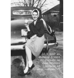 Trash Talk by Annie Trash Talk Greeting Card - Go Missing