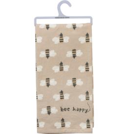 Fleurish Home Dish Towel- Bee Happy