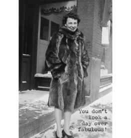 Trash Talk by Annie Greeting Card- You Don't Look