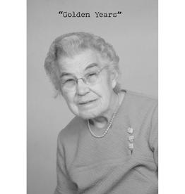 Trash Talk by Annie Trash Talk Greeting Card - Golden Years