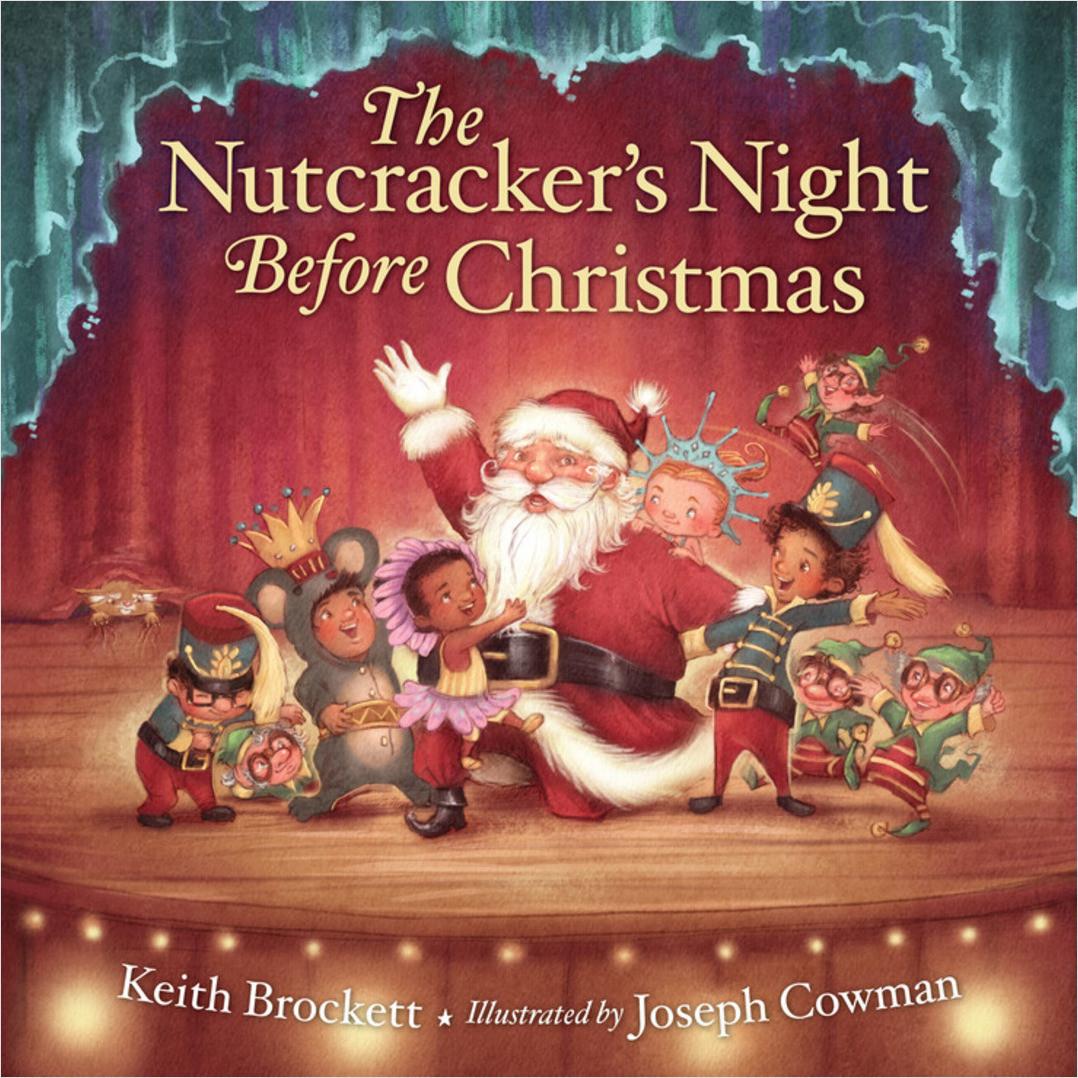 Fleurish Home The Nutcracker's Night Before Christmas