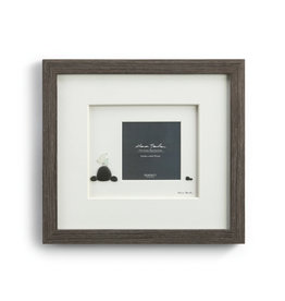 Sharon Nowlan Baby Bird Pebble Art Frame 13x12