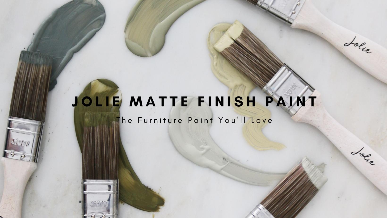 Jolie Chalk Finish Furniture Paint