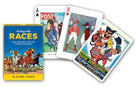 Piatnik Playing Cards Deck A Day at the Races