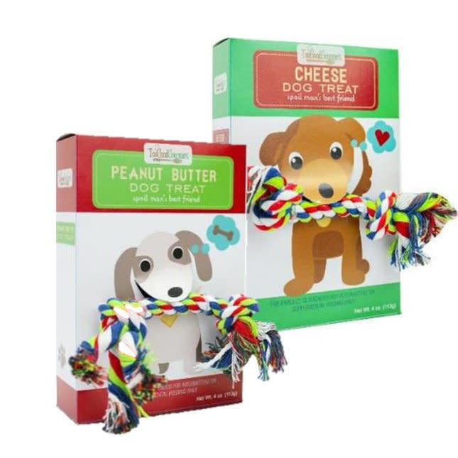 Too Good Gourmet Dog Treat w/ Rope Gifts (4oz)