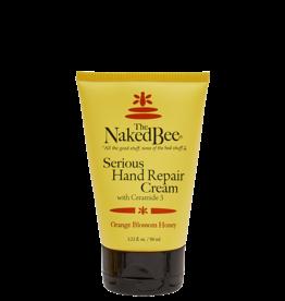 Naked Bee Serious Hand Repair Cream - Orange Blossom Honey 3.5oz