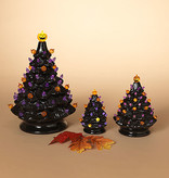 Fleurish Home Large Old Fashioned Style Ceramic Halloween Tree w Colored Lights (B/O)