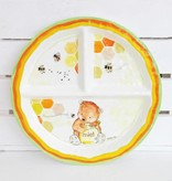 Baby Cie Melamine Section Plate