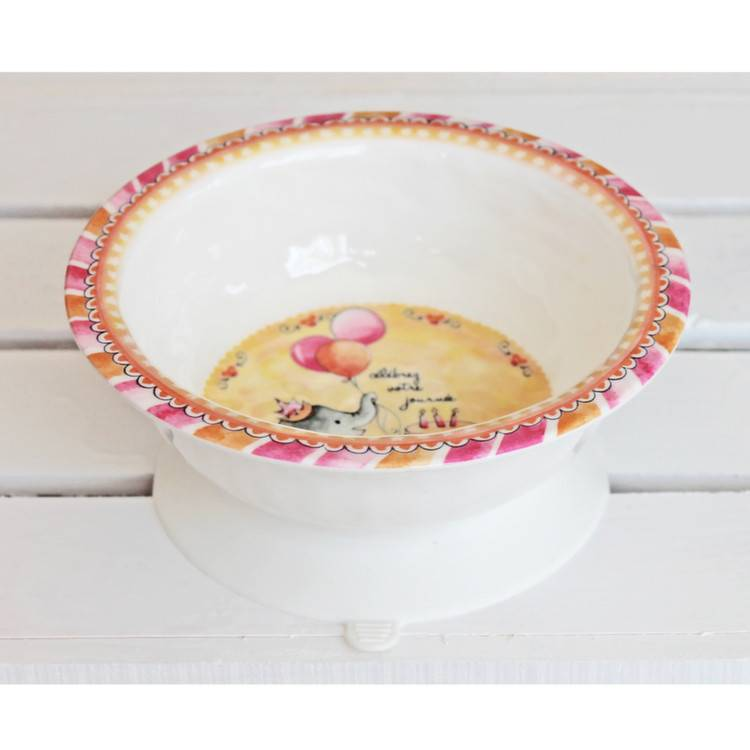 Baby Cie Melamine Suction Bowl