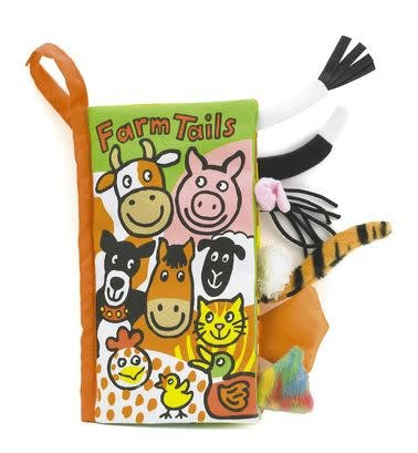 Jellycat Book Farm Tails