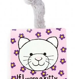 Jellycat If I Were a Kitty Book (Grey)
