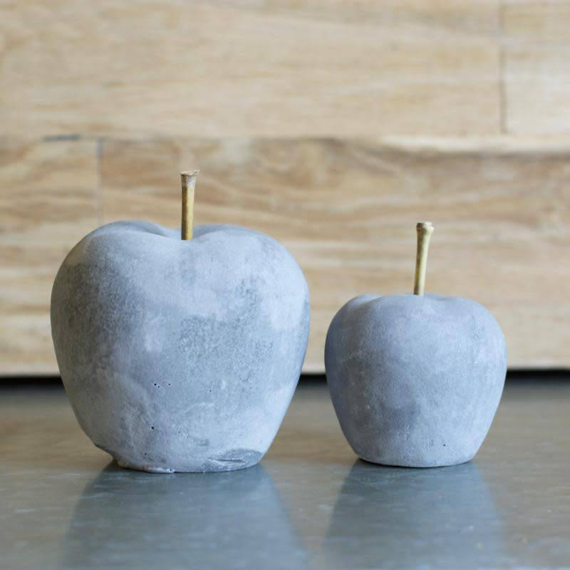 Fleurish Home Lg Cement Apple
