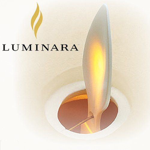 "Fleurish Home 9"" Luminara Pillar Candle w Timer & Batteries"