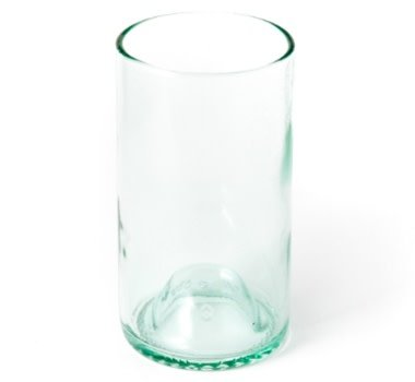 Fleurish Home Wine Punt Upcycled Drinking Glass