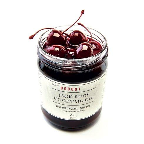 Jack Rudy Bourbon Cocktail Cherries (16oz)