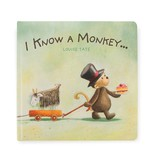 Jellycat I Know a Monkey... Book