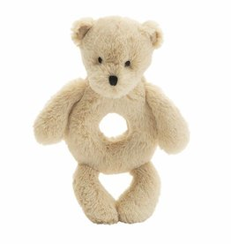 Jellycat Bashful Honey Bear Ring Rattle *discontinued