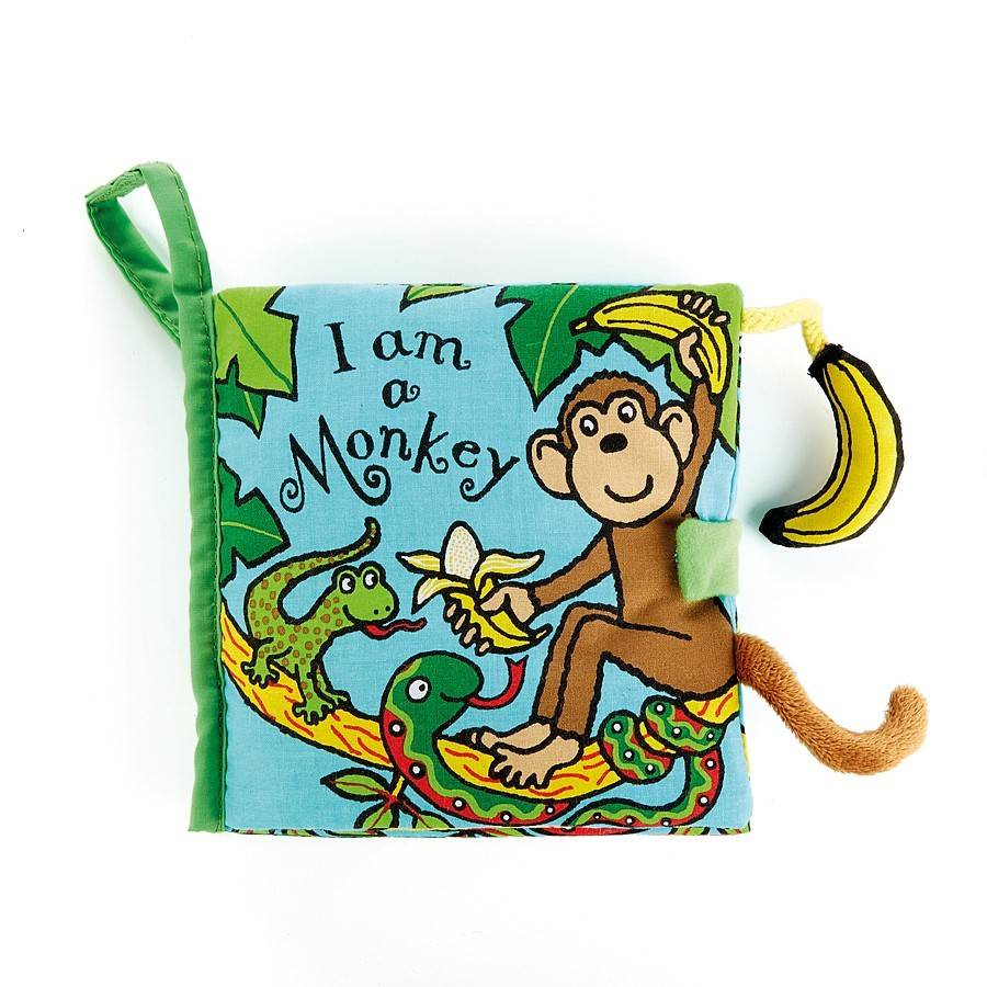 Jellycat I am a Monkey Activity Book
