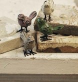 """Fleurish Home Iron Bird 1.75"""" (4 asst colors)"""