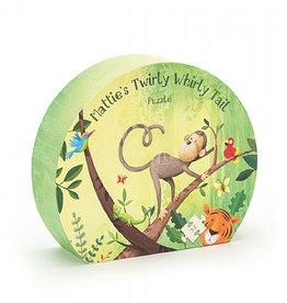 Jellycat Mattie's Twirly Whirly Tail Puzzle