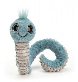 Jellycat Wiggly Worm Blue