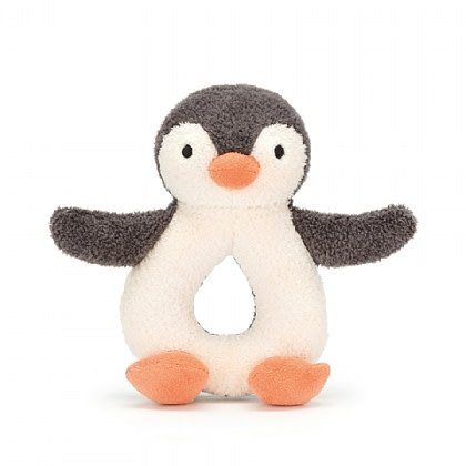 Jellycat Pippet Penguin Ring Rattle