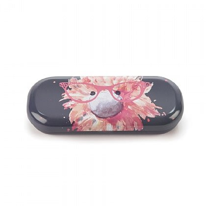 Glad to Be Me Navy Glasses Case