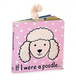 Jellycat If I were a Poodle Blush Book