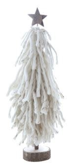 Fleurish Home Lg Wool Tree on Wood