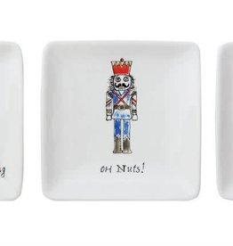 Fleurish Home Sm Square Whimsical Nutcracker Dish (3 styles)