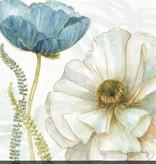 Fleurish Home My Greenhouse Flowers III Wall Art 24x24
